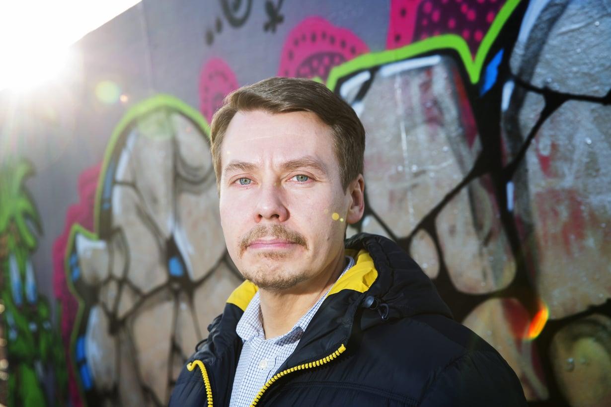 Kiusaamisen yleisöksi ei pidä suostua, Tuomas Kurttila sanoo. Kuva: Aku Isotalo