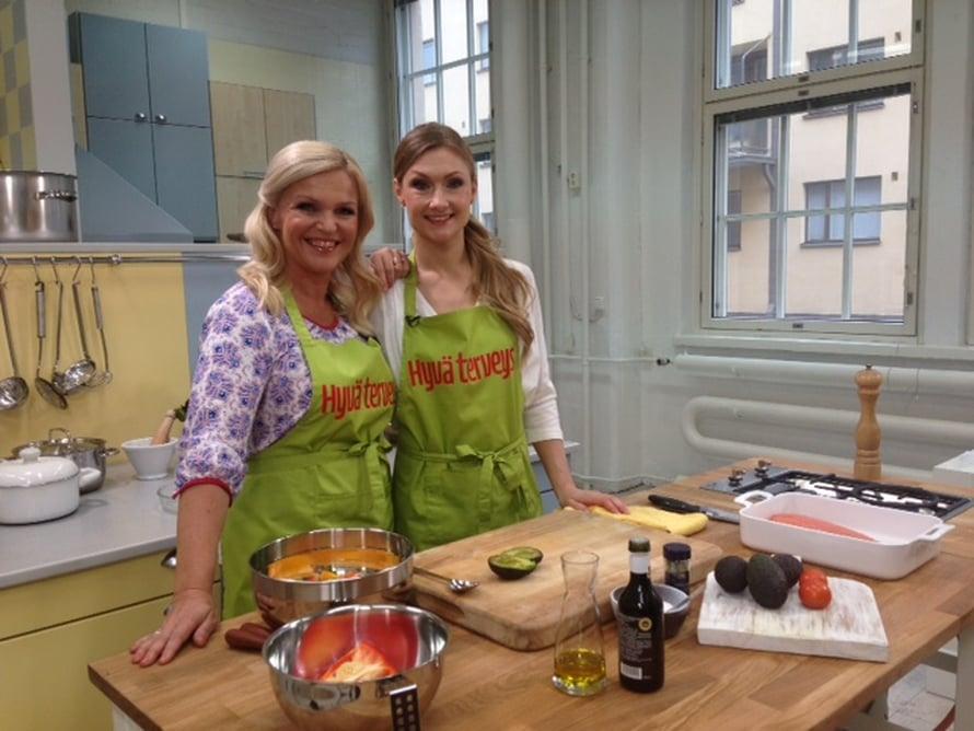 Teresan kanssa kokkaillen