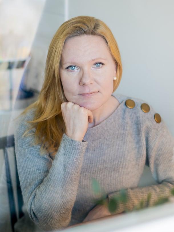 """Lapsiasiavaltuutettu Elina Pekkarinen aloittaa työssään toukokuun alussa. Kuva: <span class=""""photographer"""">Vesa-Matti Väärä</span>"""