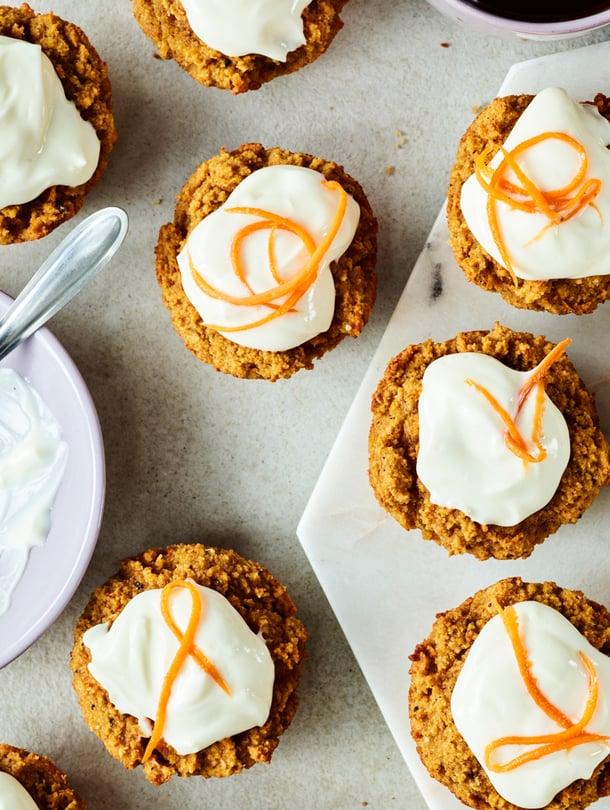 Muffinit leivotaan tällä kertaa kookosjauhoista, joten ne sopivat myös keliaakikoille.