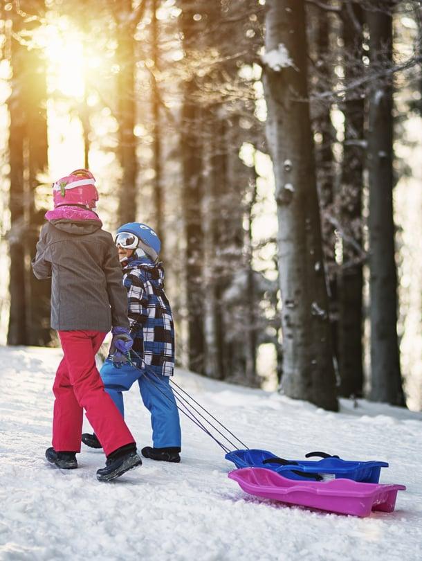 """Laskettelukeskuksista löytyvät varmat lumet. Kuva: <span class=""""photographer"""">iStockphoto</span>"""