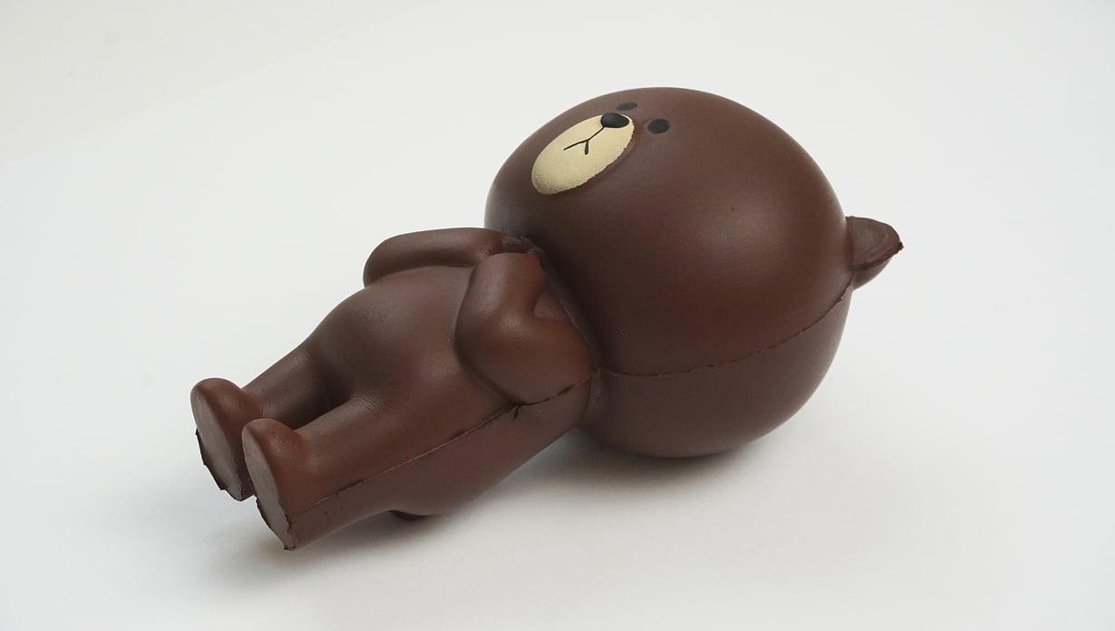 Suositut Squishy-lelut ovat vaarallisia monessa suhteessa. Leluissa on terveydelle haitallisia kemikaaleja, ja lisäksi lelut aiheuttavat tukehtumisriskin. Kuva: Tukes