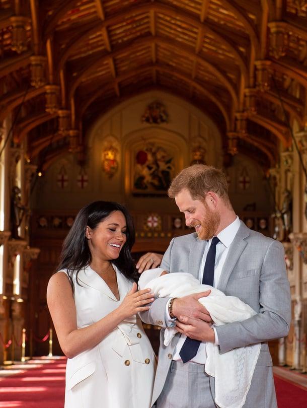 Oi, vauvaonnea! Meghanin ja Harryn esikoinen syntyi maanantaina.