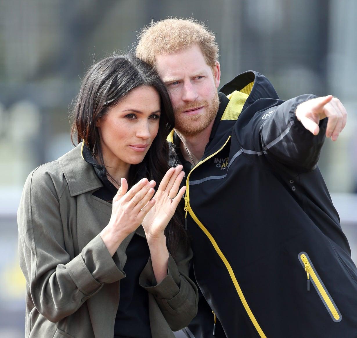 Sussexin herttuapari kertoi vauvauutisen maanantaina Instagramissa. Pariskunta on parhaillaan Australiassa. Kuva: MV Photos