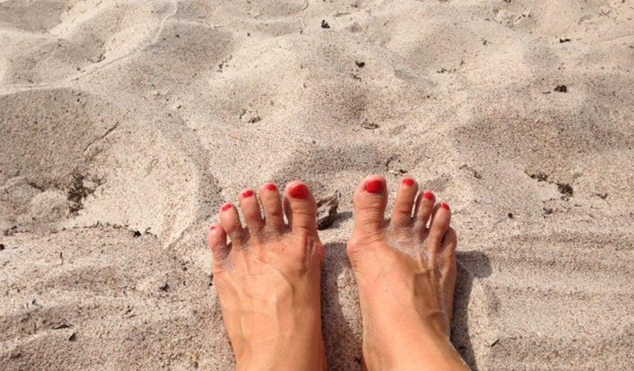 Tätä polttavaa hiekkaa kaipaan varpaiden väliin jo nyt!