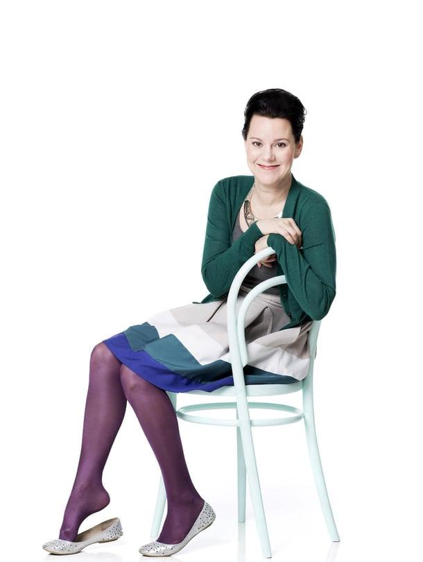 """Lapsen kiukku ei aina ole vihaisuutta, Janna Rantala sanoo. Kuva: <span class=""""photographer"""">Heli Blåfield</span>"""