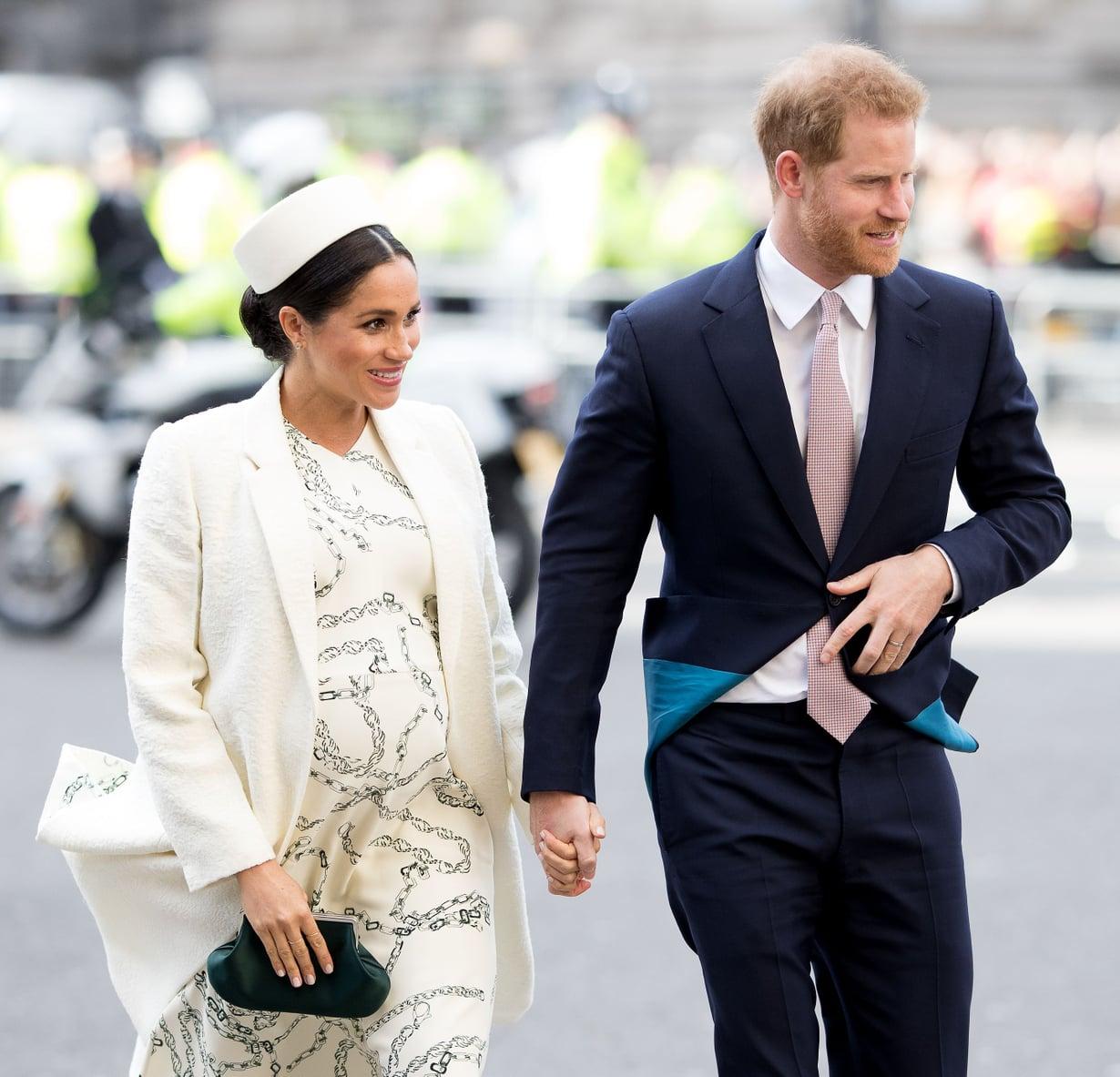 Meghanin ja Harryn esikoinen syntyi maanantaiaamuna.