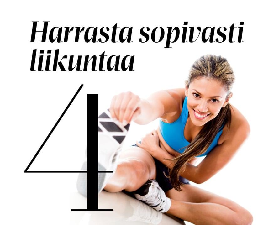 Mikään ei syö vastustuskykyämme niin kuin stressi. Syynä on stressihormoni kortisoli. Kun stressi nostaa kortisolia, puolustuskykymme terästyy. Mutta jos stressi jatkuu ja kortisolitasot pysyvät korkealla, immuunijärjestelmän solut väsyvät. Kroonisesta stressistä kärsivillä haavatkin paranevat hitaammin kuin muilla. Liikunta taltuttaa stressin tehokkaimmin. Juoksu tai ripeä kävely alentaa stressihormonien tasoja, ja säännöllinen liikunta tekee vastustuskykyisemmäksi. Liikkuvan keho ei reagoi stressiin yhtä helposti kuin liikkumattoman.