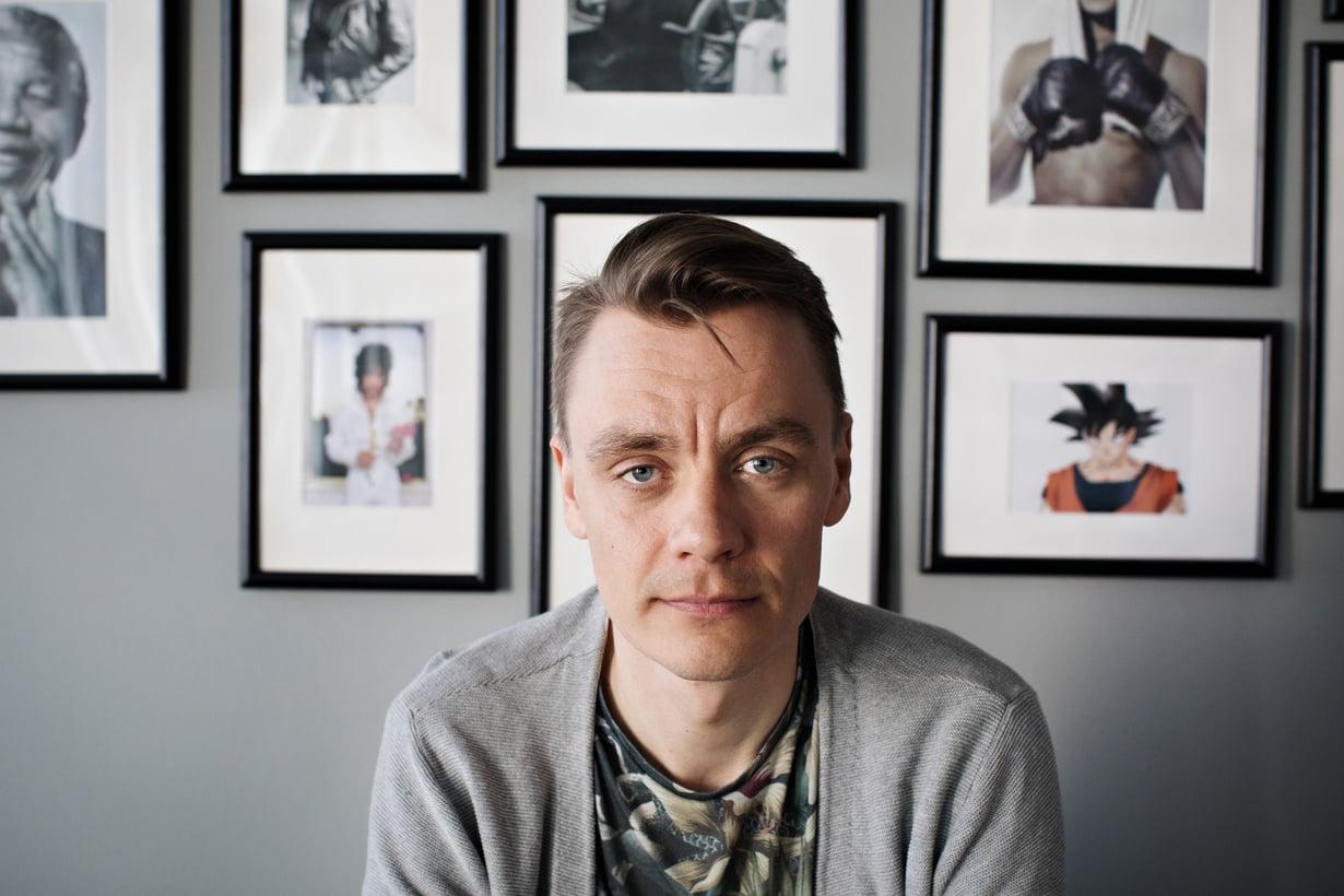 """""""Tämä aika tarvitsee empaattisia ja rakastavia poikia"""", sanoo Kalle Laanterä. Kuva: Outi Pyhäranta"""