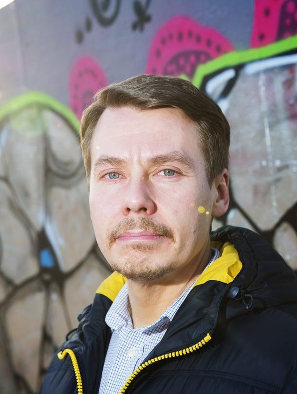 """Kiusaamisen yleisöksi ei pidä suostua, Tuomas Kurttila sanoo. Kuva: <span class=""""photographer"""">Aku Isotalo</span>"""