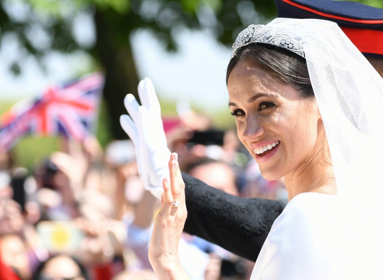 Maghanista tuli lauantaina Sussexin herttuatar, kun hän meni naimisiin prinssi Harryn kanssa Windsorissa. Kuva: MVPhotos