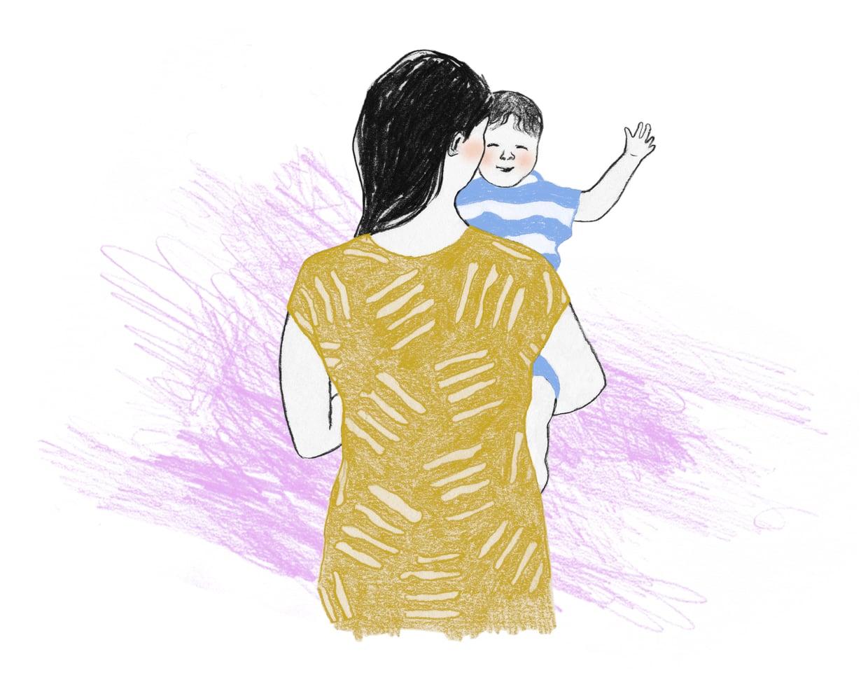 Vauvan saatuaan saa myös tilaisuuden ymmärtää omaa lapsuuttaan uudella tavalla. Toisaalta rajat omiin ja puolison vanhempiin saattaa joutua piirtämään uudelleen.