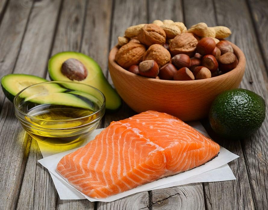 Näistä saat kaiken tarpeellisen rasvan. Kuva Shutterstock