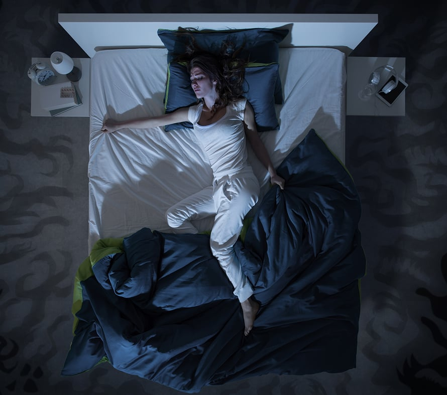 yöhikoilu, vaihdevuodet, painajaiset, unihäiriöt, hormonihoito