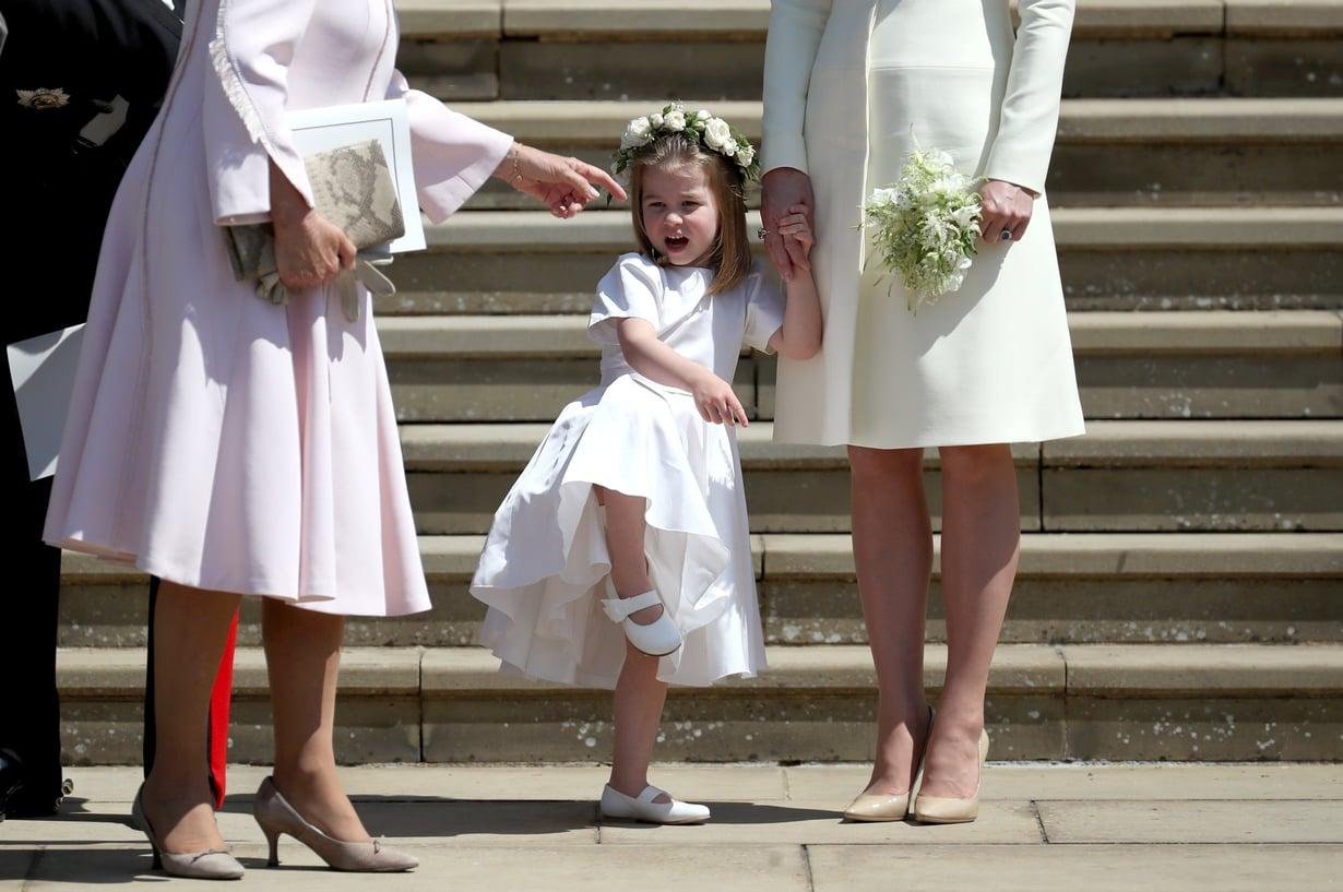 Eloisan prinsessa Charlotten, 3, juhlatyyliä. Kuva: MVPhotos