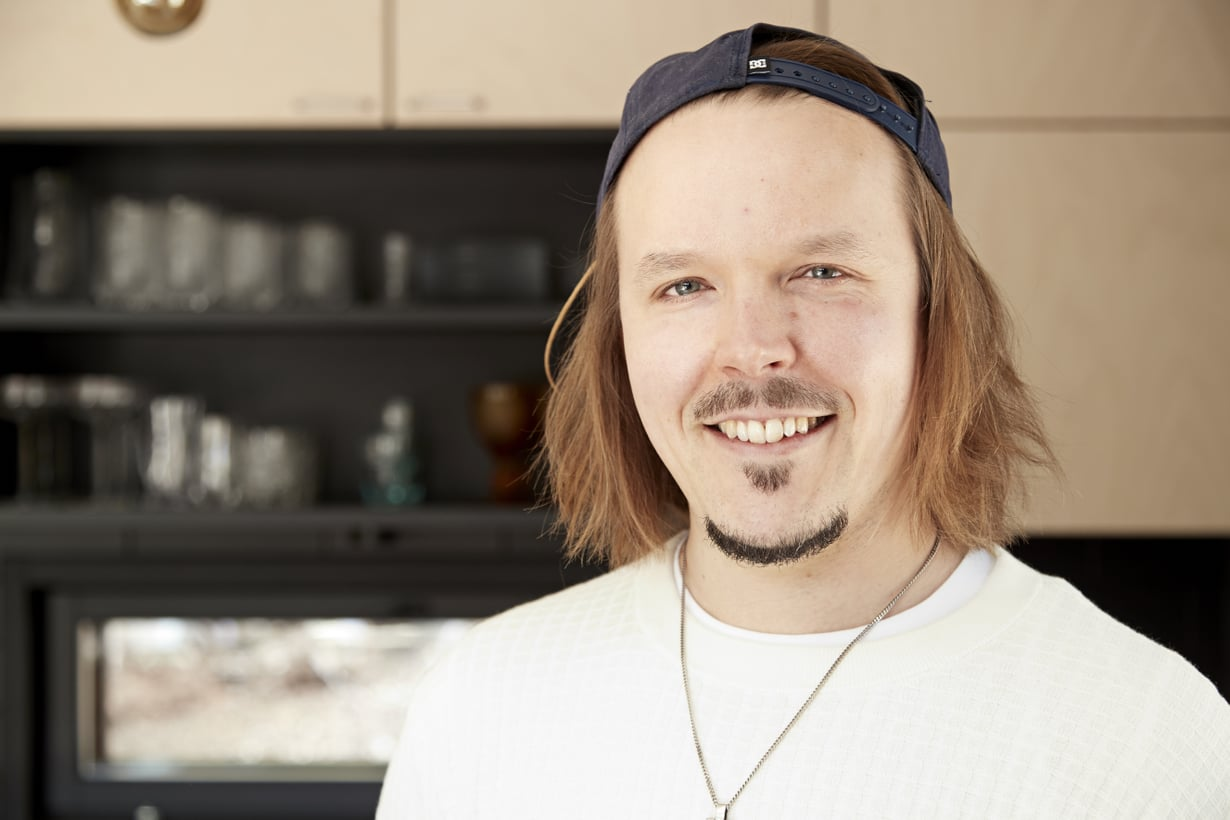 Jukka Pojan vanhimmat lapset ovat jo teini-iässä.