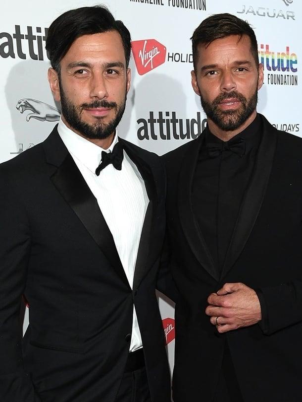 """Ricky Martin ja Jwan Yosef kertoivat viime vuoden tammikuussa menneensä naimisiin. Kuva: <span class=""""photographer"""">MVPhotos</span>"""