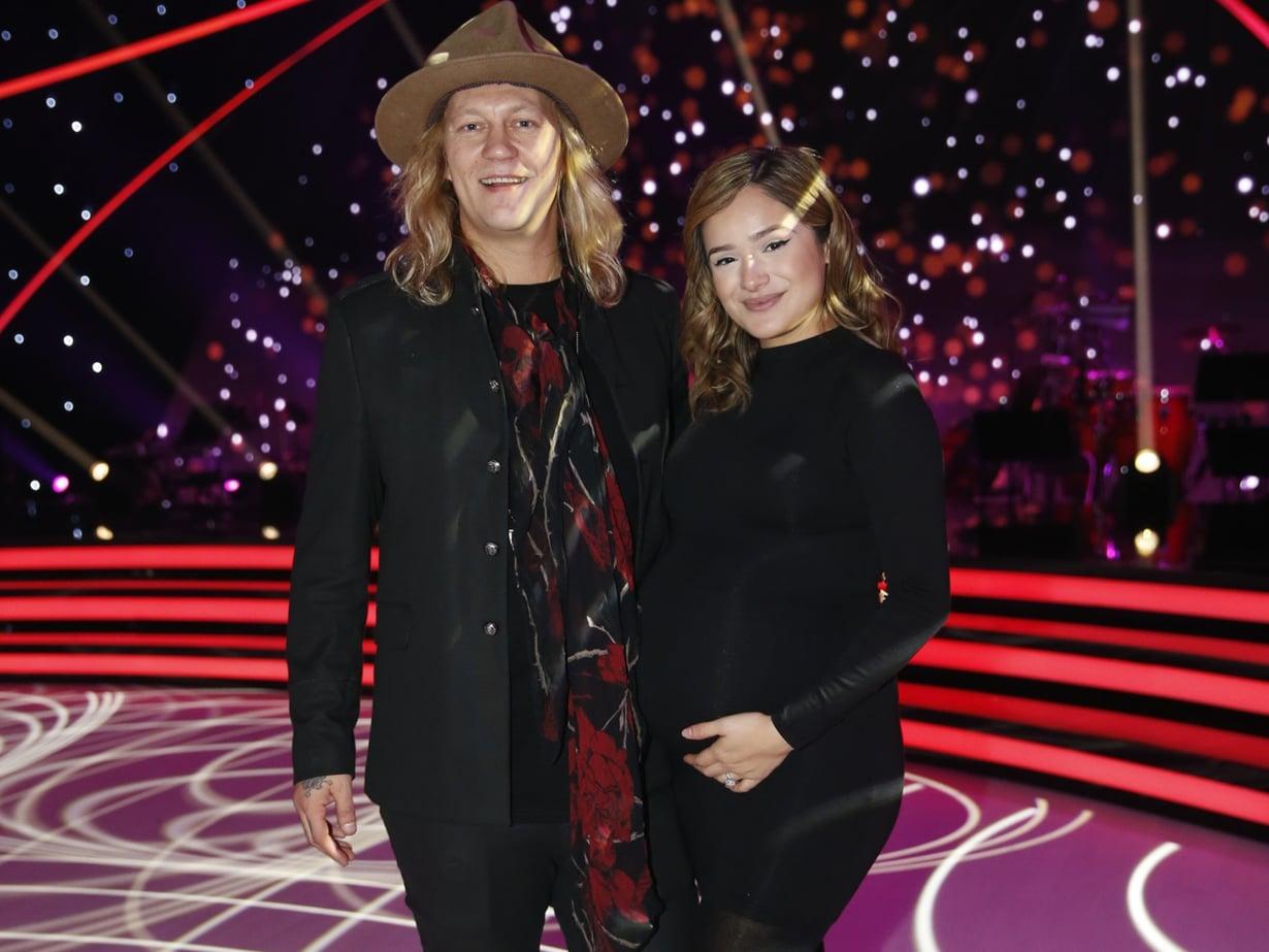 Jukka ja Chachi kuvattiin lokakuussa Tanssii tähtien kanssa -ohjelman studiossa.