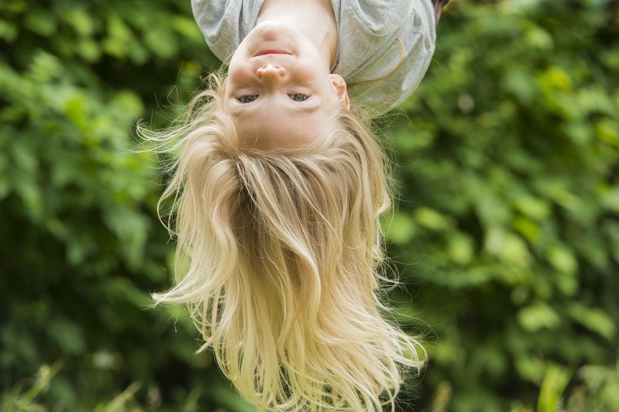 Lapsetkin ovat erilaisia: joku on syntymästään lähtien varovainen liikkuja, toinen taas hurjapäinen temppuilija. Kuva: iStockphoto