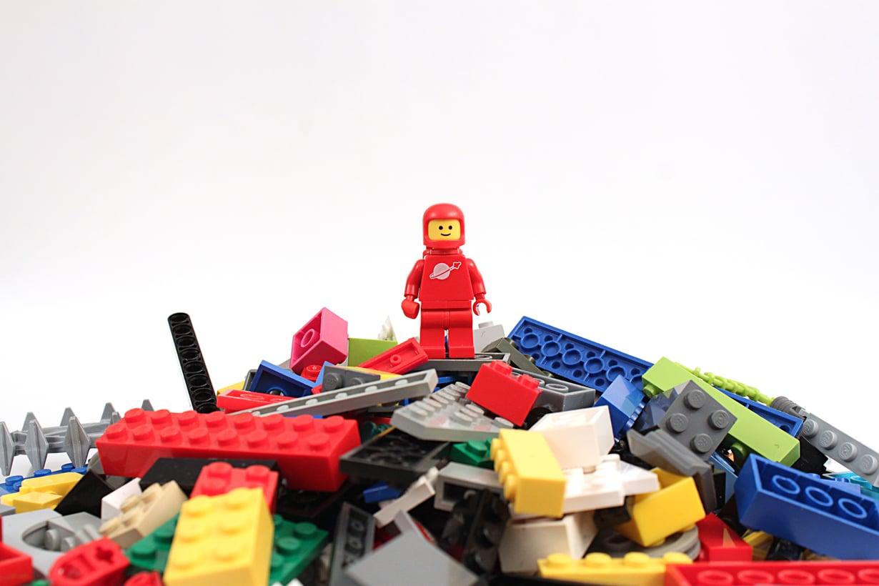 Tiesitkö? Lego-palikat patentoitiin jo vuonna 1958. Kuva: iStockphoto