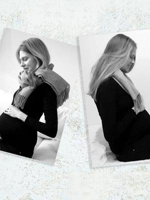 """Monikalta ja Jessikalta kysytään usein, ovatko he suunnitelmallisesti tulleet raskaaksi samaan aikaan. Kysymys on siskosten mielestä ajattelematon. Molemmat tietävät kokemuksesta, että lapsen saaminen ei ole itsestään selvää. Kuva: <span class=""""photographer"""">Monikan ja Jessikan kotialbumit</span>"""