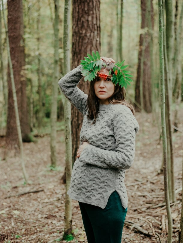 Kuten moni muu tämän ajan vanhempi, myös lastenkirjailija Kaisa Happonen tuntee ristiriitaisia tunteita lapsen saamisesta.