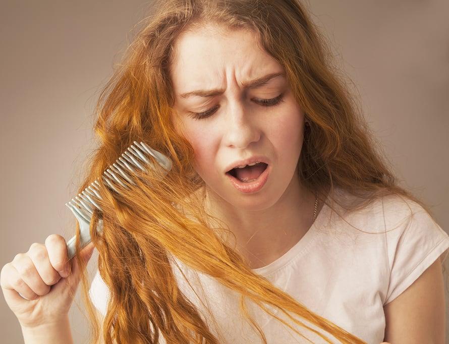 päänahan kuivuus, hilse, rasvoittuva tukka