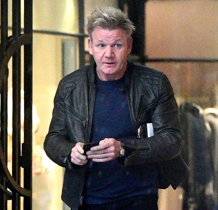"""52-vuotiaalla Gordon Ramsaylla on viisi lasta. Kuva: <span class=""""photographer"""">MV-photos</span>"""