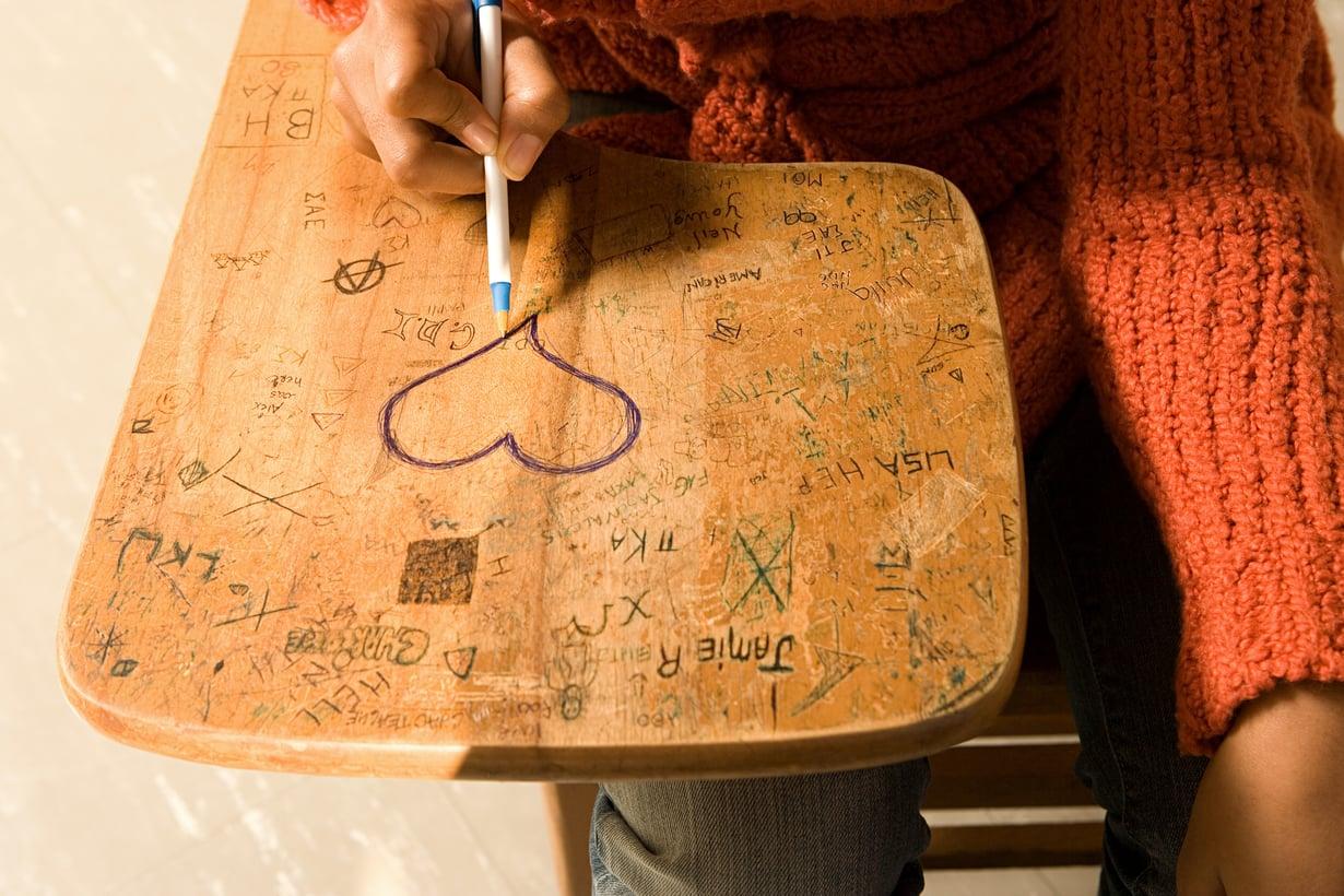 Nuoret kuvaavat, että rakastumisen tunteeseen liittyy vahvaa turvallisuuden tunnetta ja luottamusta toiseen. Kuva: iStock