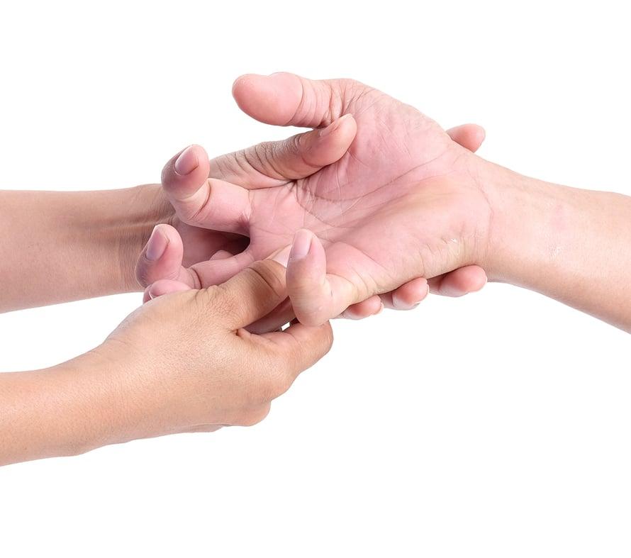 patit, kovettumat, ihottuma, kädet