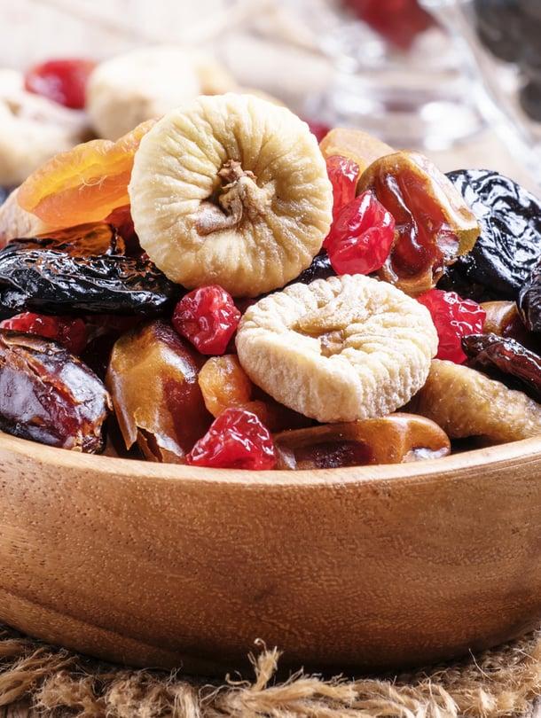 kuivatut hedelmät, piilosokeri