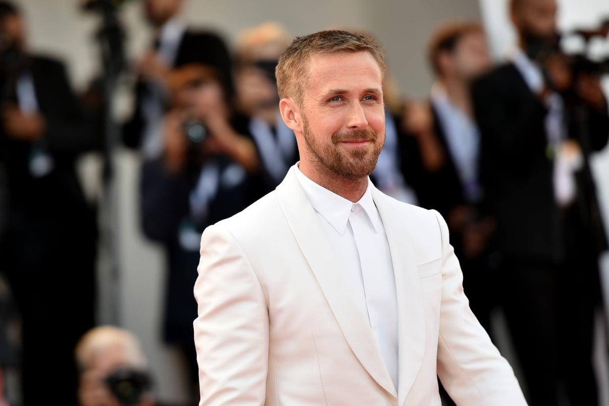 Kahden lapsen isä Ryan Gosling haluaa olla kasvattajana lastensa arvoinen. Kuva: MVPhotos